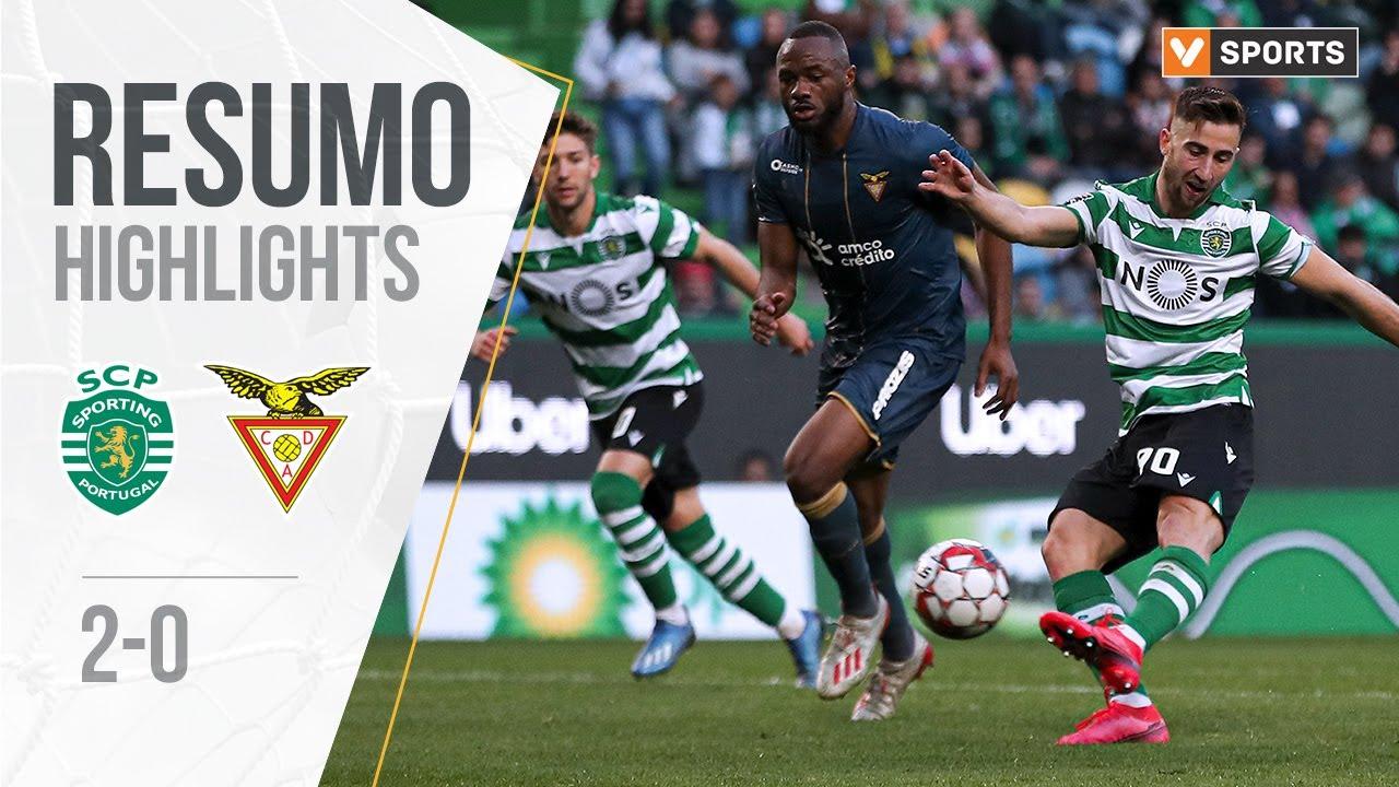 Highlights   Resumo: Sporting 2-0 Desp. Aves (Liga 19/20 #24)