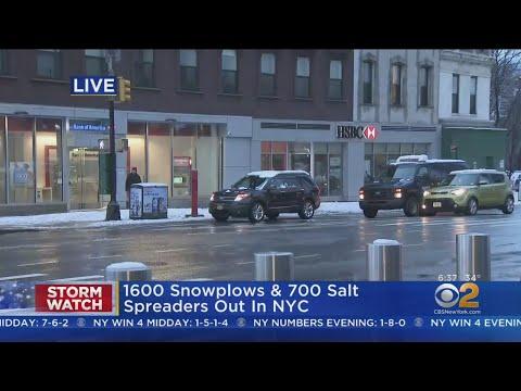 Quiet Commute In Downtown Brooklyn