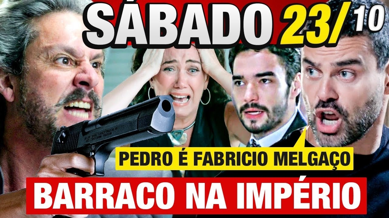 Download IMPÉRIO - Capítulo 23/10 - SÁBADO Resumo da novela IMPÉRIO - Hoje COMPLETO!  Recupera diamante