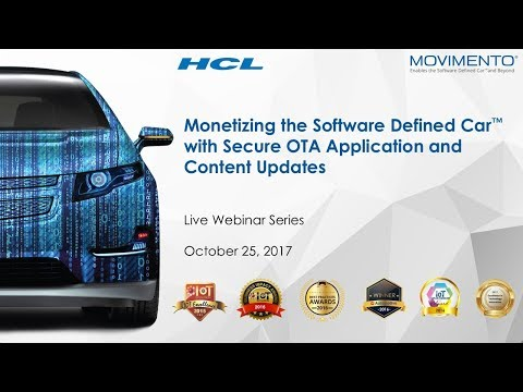 Monetizing the Software Defined Car™ with Secure OTA Application and Content Updates