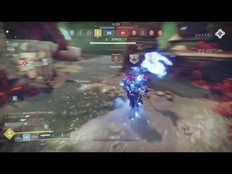 Destiny 2 striker titan  lights out medal