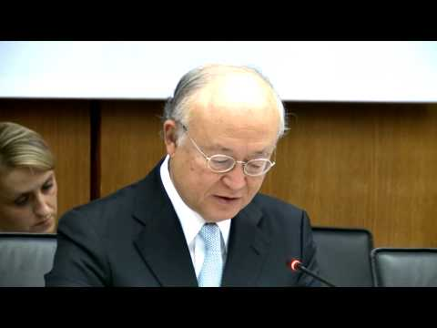IAEA Director General Yukiya Amano Convention on the Physical Protection of Nuclear Material