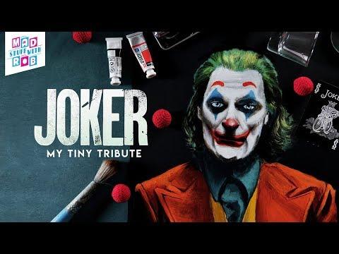 Tribute to Joker   Joaquin Phoenix   Speed Painting
