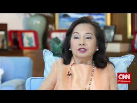'The Source' speaks to Pampanga Rep. Gloria Macapagal Arroyo