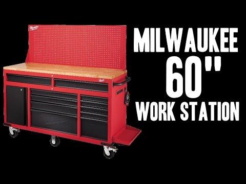 "Milwaukee 60"" Mobile Work Station - 48-22-8560"