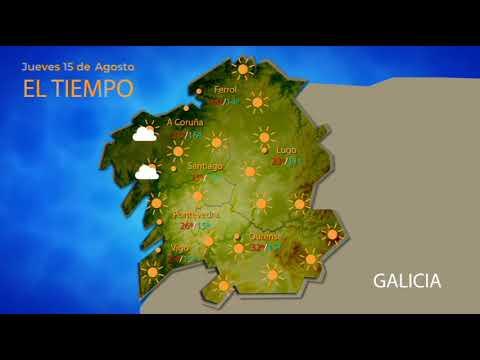 El tiempo en Ourense para el 15 de agosto