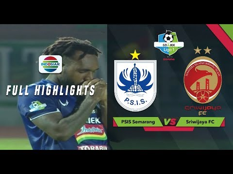 PSIS Semarang (1) Vs (0) Sriwijaya FC - Full Highlights | Go-Jek Liga 1 Bersama Bukalapak