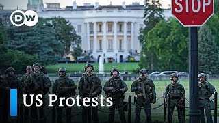 Protests in the US: Latest developments | DW News