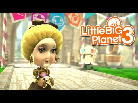 LittleBIGPlanet 3: The Journey Home [From Cakes to Caos & Bone-a-fide Ride] - Part 1