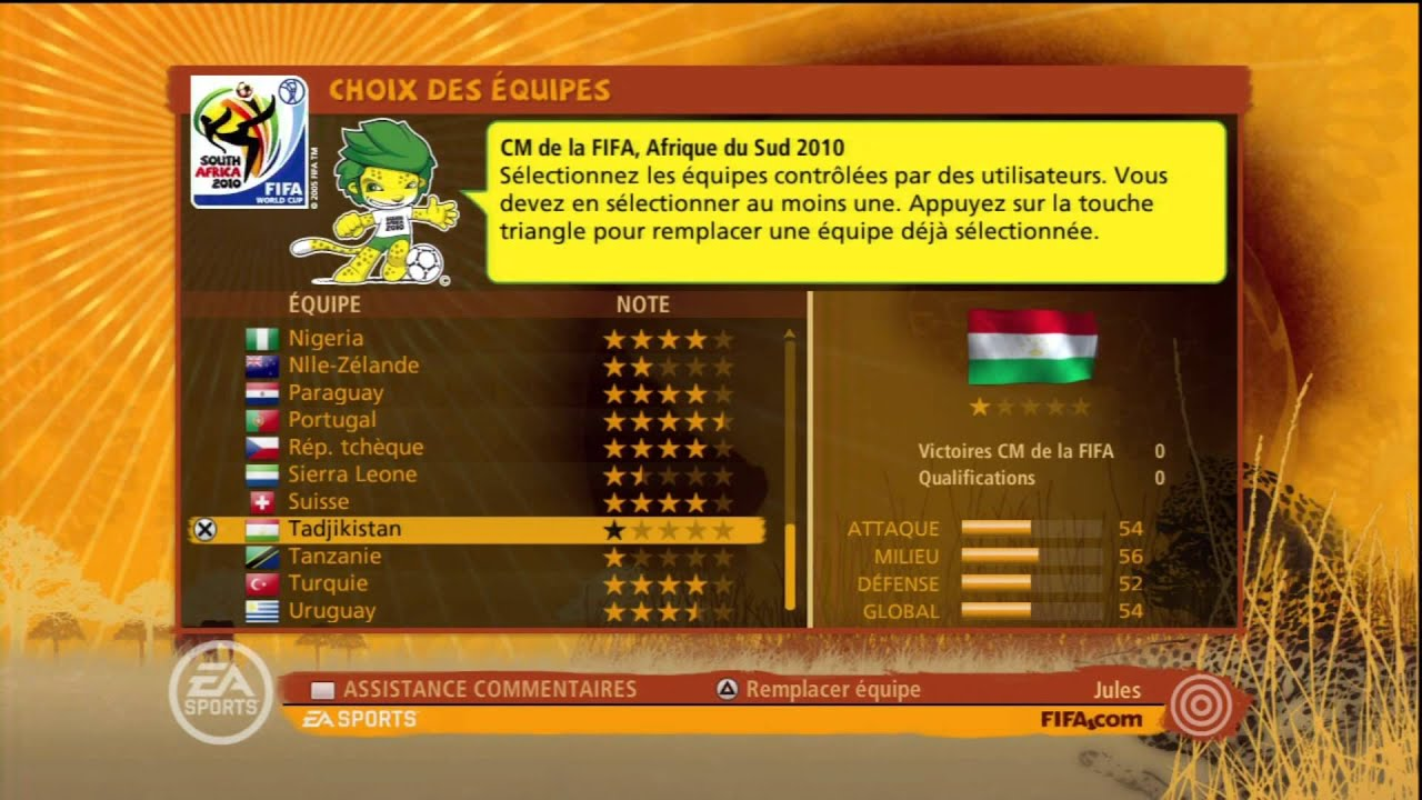 Coupe du monde de la fifa 2010 explications tirage youtube - Coupe du monde fifa 2010 ...