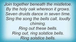 Jethro Tull - Ring Out Solstice Bells Lyrics