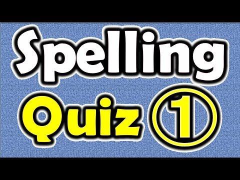 Spelling Quiz (1) [ ForB English Lesson ]
