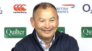 England v South Africa - Eddie Jones & Dylan Hartley Post Match Press Conference