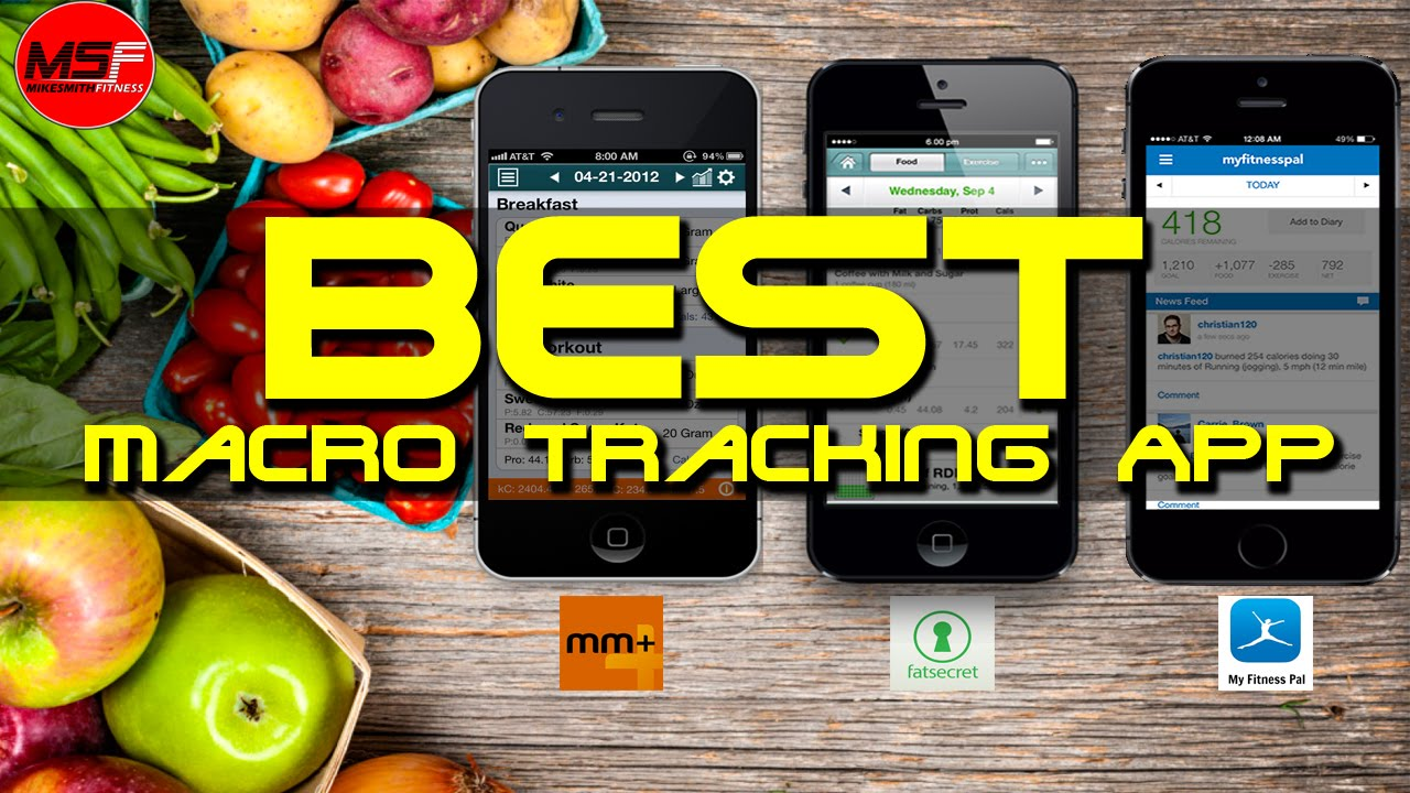 best macro tracking app plus tips instructions mike smith