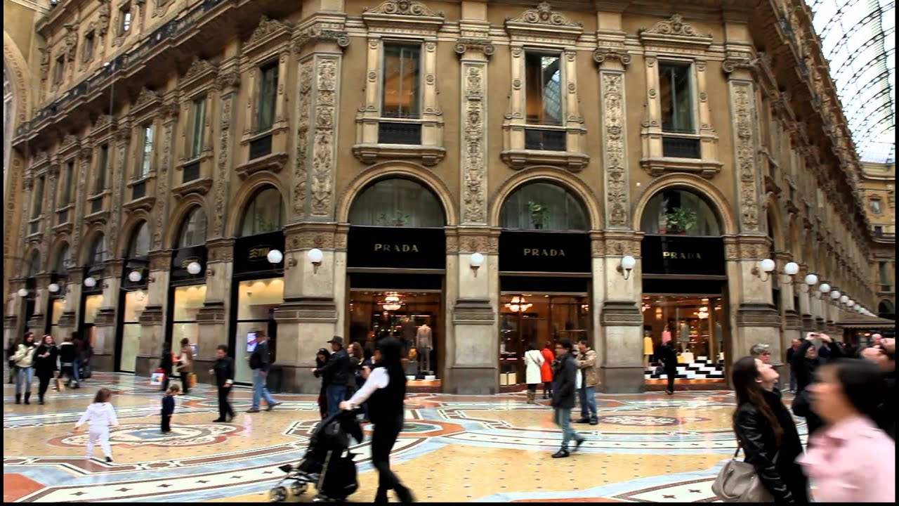 Flagship shopping mall in Milan - interesting collection of ...