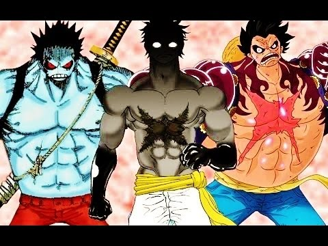 Monkey D Luffy All Forms