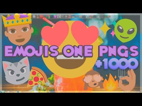 Pack de Emojis Nuevos en PNG ~ +1000