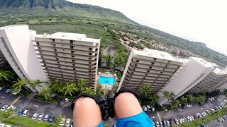 GoPro: Speedflying Through Buildings