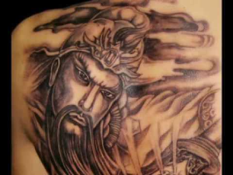 Tattoo, Full back Quan Cong (xam nghe thuat).flv