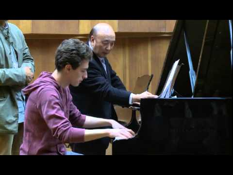 Masterclass with Dan Zhaoyi (Netanel Grinshtein, piano)