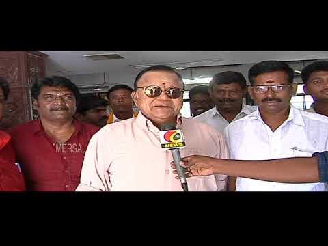 Vijayakanth is a great man l  ராதாரவி