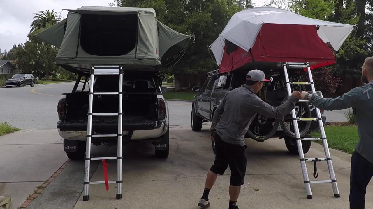 Yakima Vs Tepui Setup And Tear Down Which Tent Is