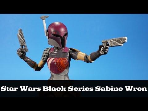 Star Wars Black Series Sabine Wren Rebels Hasbro Review
