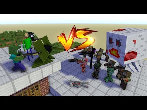 MONSTER SCHOOL : Baldi VS Zombie Apocalypse!!