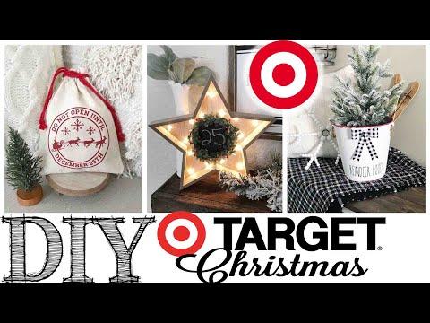 DIY Target Dollar Spot Christmas Decor | 3 PROJECTS!