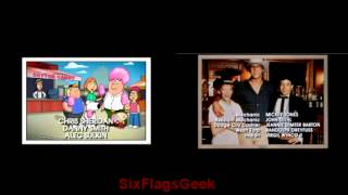 national lampoons family guy ending comparison