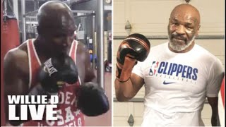 "Rematch On The Way? Evander Holyfield Responds To Mike Tyson With His Own Training Video! ""I"