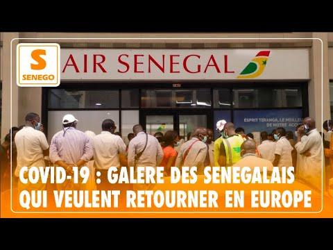 Covid-19 : Galère des Sénégalais qui veulent retourner en Europe