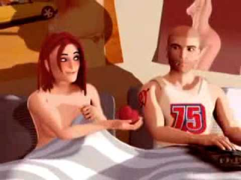 Safer Sex Cartoon - The Brutal Way Of Love