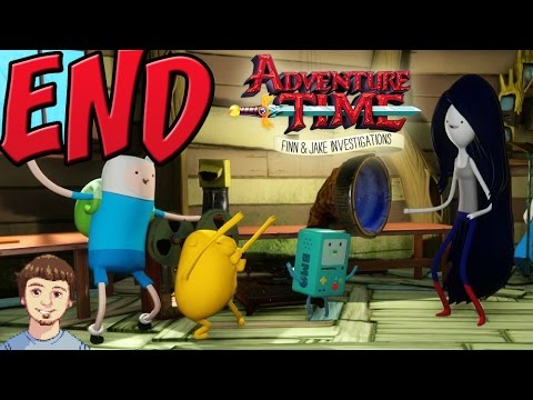 adventure time finn and jake investigations ending relationship