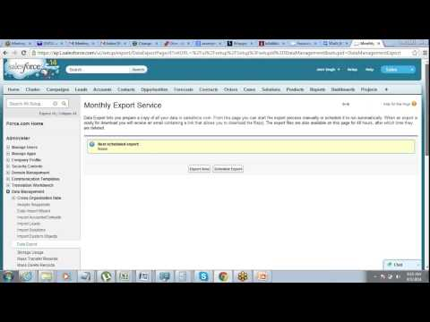 Data Management in Salesforce - Data Import, Export, Mass Delete, Mass Transfer