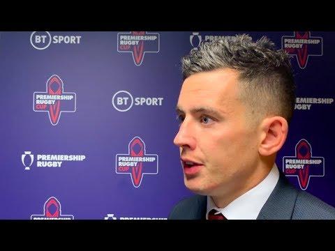 Noel Reid discusses defeat to Northampton Saints at Welford Road