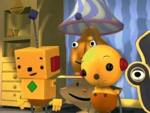 Rolie Polie Olie Room Clean