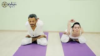 Йога в Краснодаре, инструктор Пранав Гопал (Индия, Брамин). Пример урока в центре йоги Кувира.