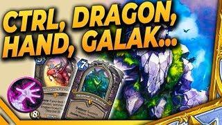Control, Dragon, Handlock, Galakrond.. ile można?! - MISZMASZ Warrior - Hearthstone Deck