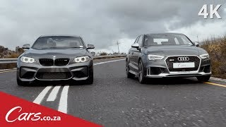2017 Audi RS3 vs BMW M2 - Which Is The Better Driver's Car?