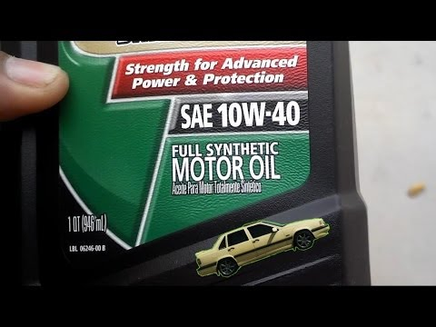 Motor oil myths faqs synthetic vs conventional doovi for How often to change full synthetic motor oil