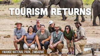 Tourism Returns to Hwange National Park Zimbabwe