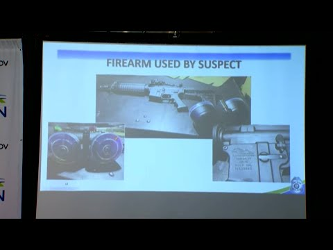 Police show security video of response to Dayton shooting