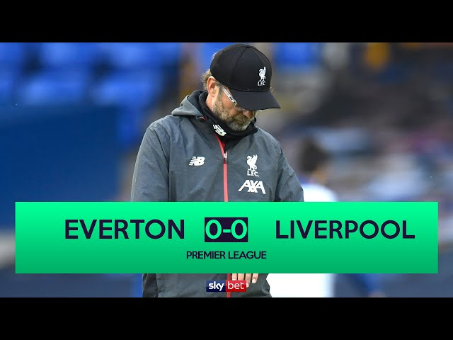 Everton 0-0 Liverpool | Liverpool 5 points Away From Premier League Title