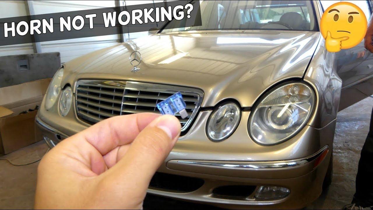 Mercedes W211 Horn Not Working Fuse Location Youtube 2007 Gl450 Diagram