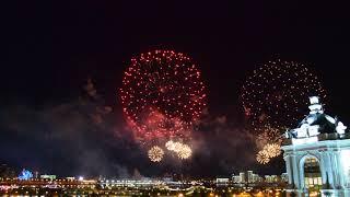 Скачать Салют 2018 Казань Август 30 е 1920x1080 Fireworks Show In Kazan 2018 08 30