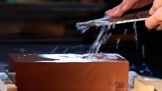 Мастер-класс по заточке японских ножей с Кодзи Хаттори (MASAHIRO). Часть 3. Ножи для японской кухни