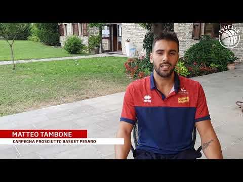 Matteo Tambone: le prime impressioni dal ritiro di Lamoli / Borgo Pace