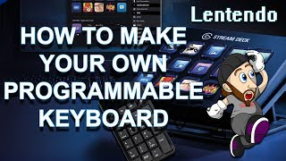 Elgato Stream Deck - HOW TO MAKE YOUR OWN FOR UNDER $10!!