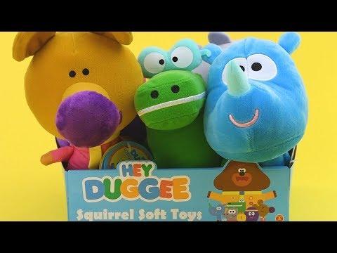 Hey Duggee Tag Talking Squirrel Soft Toy
